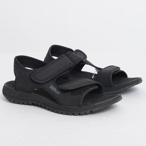 5ffe3cee2f72 Teva Shoes - NWT Teva Tidepool Sport Water Solid Black Sandals